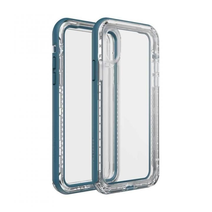 iPhone XS/X ケース LIFEPROOF NEXT 防塵・防雪・耐衝撃ケース CLEAR LAKE iPhone XS/X_0