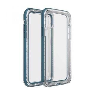 iPhone XS/X ケース LIFEPROOF NEXT 防塵・防雪・耐衝撃ケース CLEAR LAKE iPhone XS/X