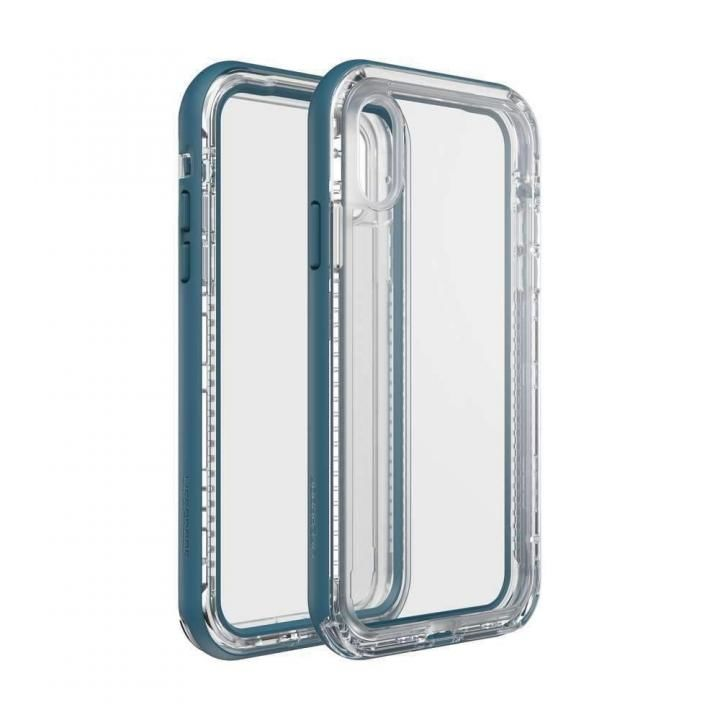 【iPhone XRケース】LIFEPROOF NEXT 防塵・防雪・耐衝撃ケース CLEAR LAKE iPhone XR_0