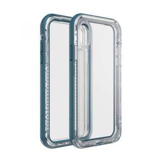 【iPhone XRケース】LIFEPROOF NEXT 防塵・防雪・耐衝撃ケース CLEAR LAKE iPhone XR