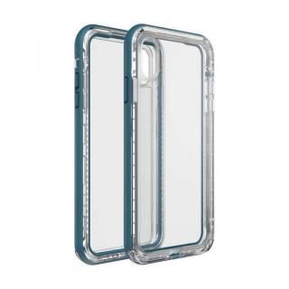 iPhone XS Max ケース LIFEPROOF NEXT 防塵・防雪・耐衝撃ケース CLEAR LAKE iPhone XS Max