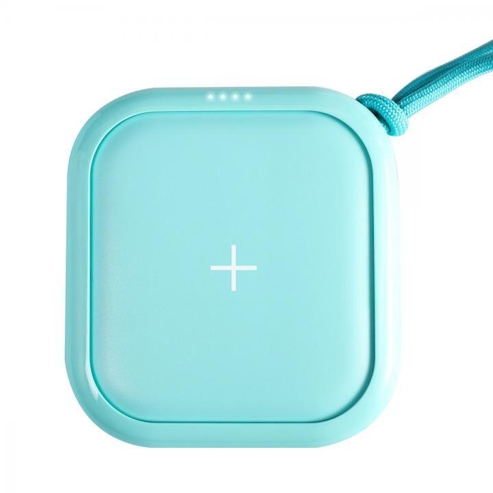 ワイヤレスモバイルバッテリー POWER CUBE PRO 10,000mAh ミントブルー_0