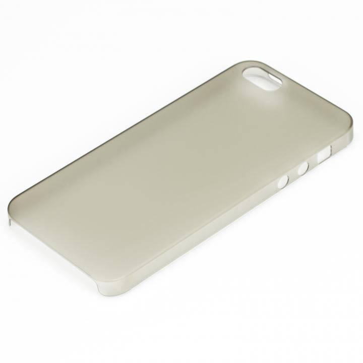 【iPhone SE/5s/5ケース】軽い・薄い・安い Helium133 PC Case iPhone SE/5s/5 マットスモーク_0