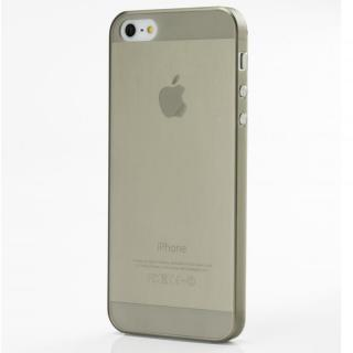 【iPhone SE/5s/5ケース】軽い・薄い・安い Helium133 PC Case iPhone SE/5s/5 マットスモーク_1
