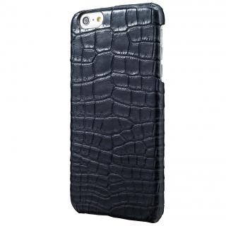 GRAMAS Meister クロコダイル レザーケース グレイ iPhone 6s Plus/6 Plusケース