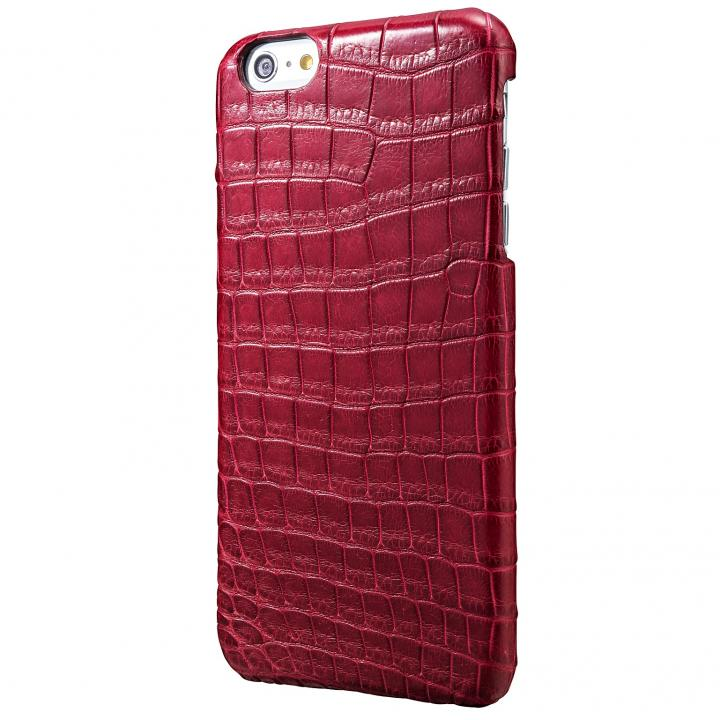 iPhone6s Plus/6 Plus ケース GRAMAS Meister クロコダイル レザーケース ワイン iPhone 6s Plus/6 Plusケース_0