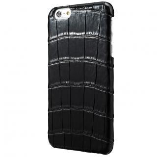 GRAMAS Meister クロコダイル レザーケース ブラック iPhone 6s Plus/6 Plusケース
