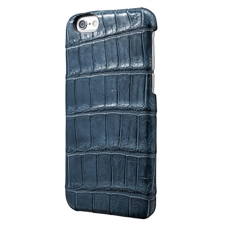 【iPhone6s/6ケース】GRAMAS Meister クロコダイル レザーケース ネイビー iPhone 6s/6ケース_0