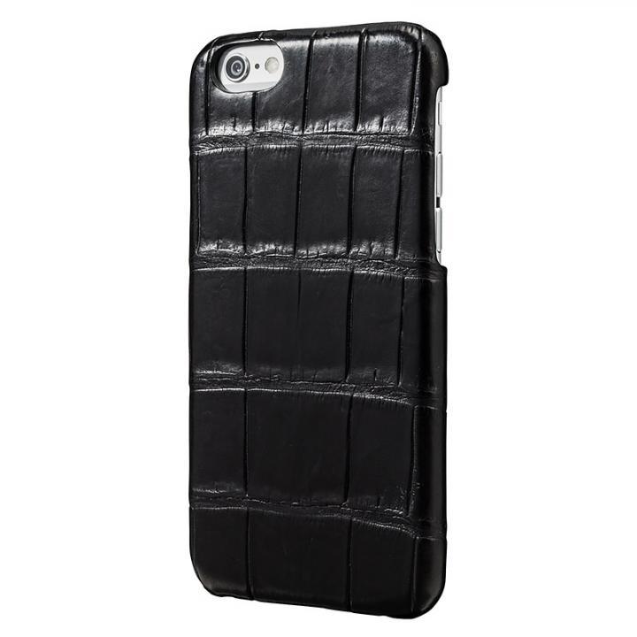 iPhone6s/6 ケース GRAMAS Meister クロコダイル レザーケース ブラック iPhone 6s/6ケース_0