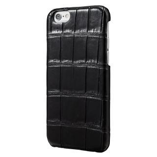 GRAMAS Meister クロコダイル レザーケース ブラック iPhone 6s/6ケース