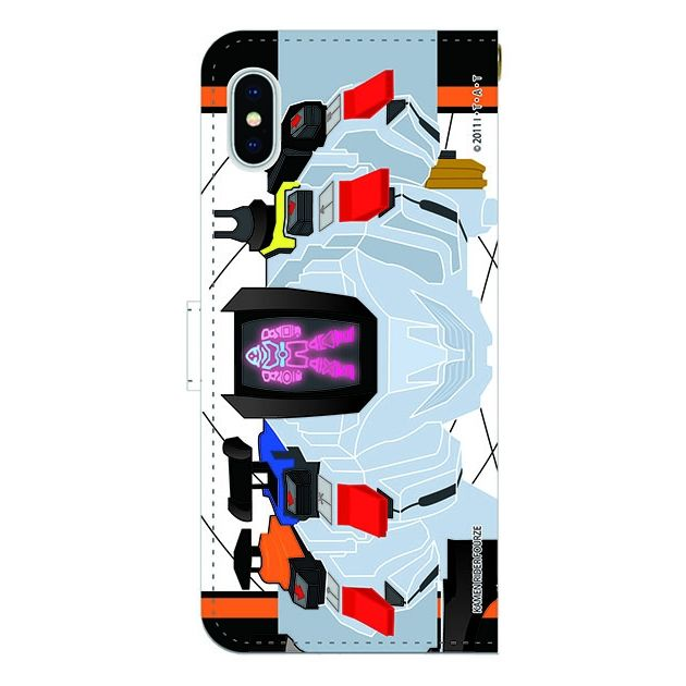 【iPhone Xケース】仮面ライダーフォーゼ 手帳型ケース iPhone X_0