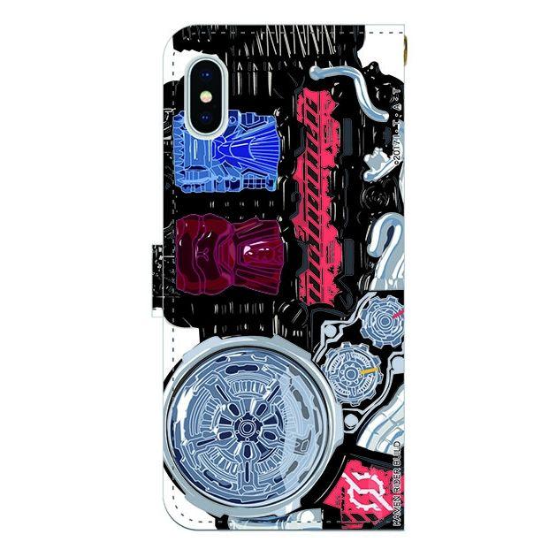 仮面ライダービルド 手帳型ケース iPhone X