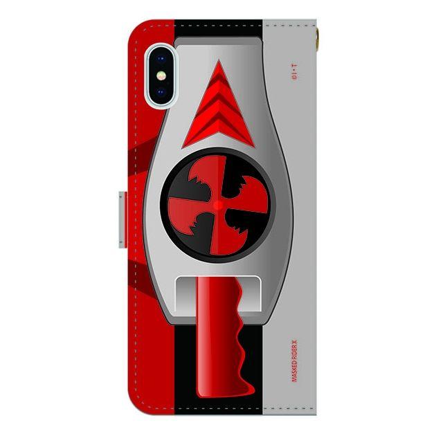 iPhone X ケース 仮面ライダーX(エックス) 手帳型ケース iPhone X_0