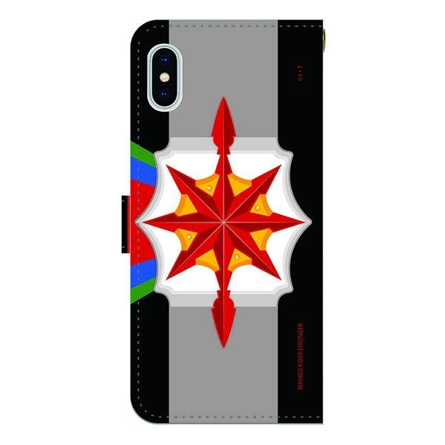 iPhone X ケース 仮面ライダーストロンガー 手帳型ケース iPhone X_0