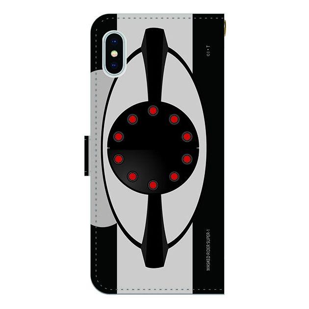 iPhone X ケース 仮面ライダースーパー1(ワン) 手帳型ケース iPhone X_0