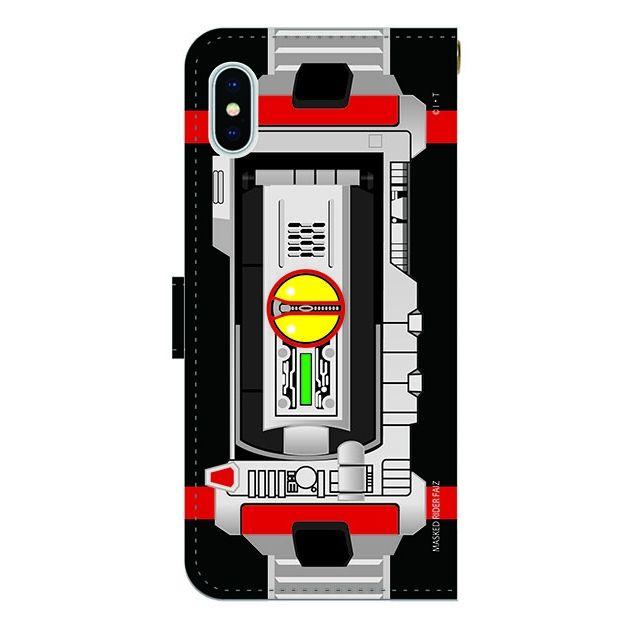 iPhone X ケース 仮面ライダーファイズ 手帳型ケース iPhone X_0
