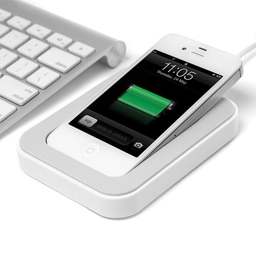 サイドカ・Dock iPhone用充電スタンド ホワイト