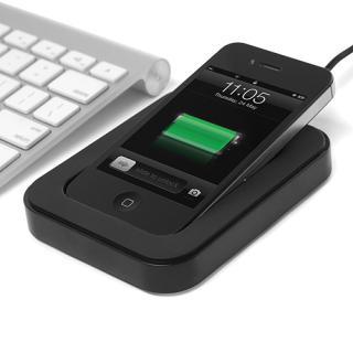 サイドカ・Dock iPhone用充電スタンド ブラック