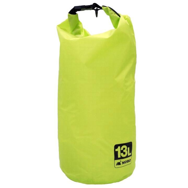 [4周年特価]軽い・薄い・撥水バッグ Light Weight Stuff Bag 13L グリーン