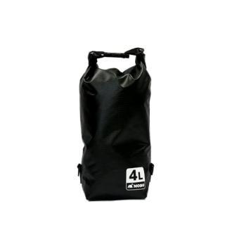 [8月特価]丈夫な素材・両掛け対応ストラップ付き Water Sports Dry Bag 4L ブラック