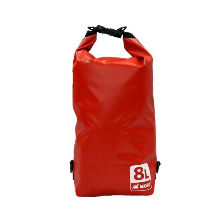 丈夫な素材・両掛け対応ストラップ付き Water Sports Dry Bag 8L レッド_0