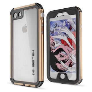 【iPhone7 ケース】防水IP68準拠 アルミ合金ケース Atomic3.0 ゴールド iPhone 8/7