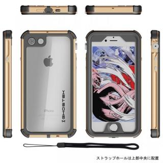 【iPhone8/7ケース】防水IP68準拠 アルミ合金ケース Atomic3.0 ゴールド iPhone 8/7_1