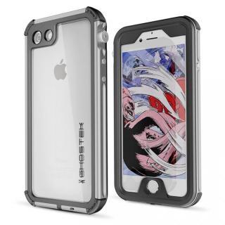 防水IP68準拠 アルミ合金ケース Atomic3.0 シルバー iPhone 8/7