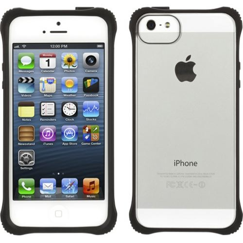 【iPhone SE/5s/5ケース】Griffin  SurvivorClear iPhone5-BLK CLR_0