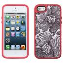 iPhone 5 FabShell FreshBloom Coral Pink/Black