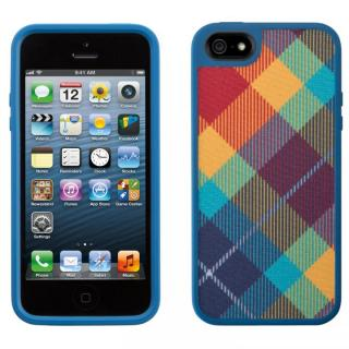 iPhone 5 FabShell MegaPlaid Spectrum