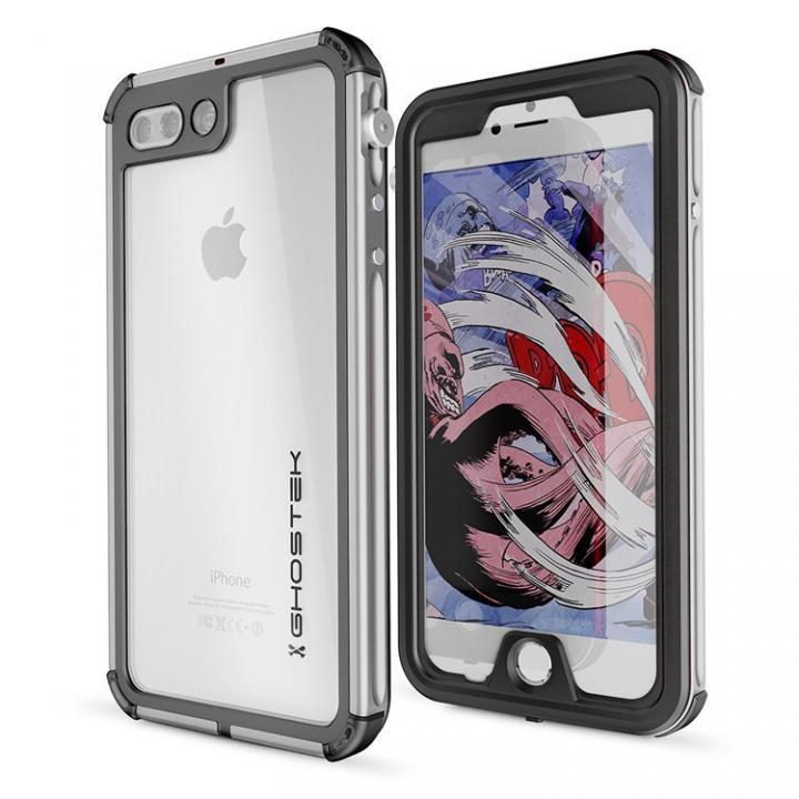 iPhone8 Plus/7 Plus ケース 防水IP68準拠 アルミ合金ケース Atomic3.0 シルバー iPhone 8 Plus/7 Plus_0