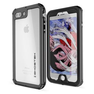 iPhone8 Plus/7 Plus ケース 防水IP68準拠 アルミ合金ケース Atomic3.0 ブラック iPhone 8 Plus/7 Plus