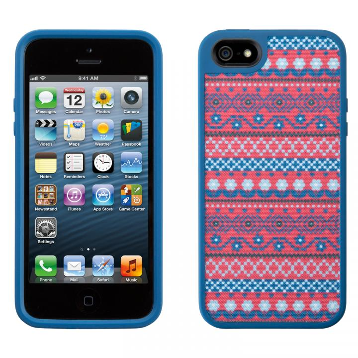 iPhone 5 FabShell DigiTribe Pink/Blue