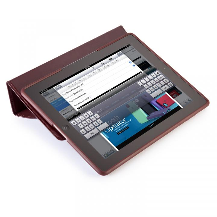 iPad 3rd/4th gen MagFolio Luxe - Burgundy Leather_0