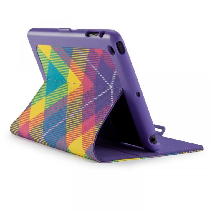 iPad mini/2/3FitFolio - MegaPlaid Springtime