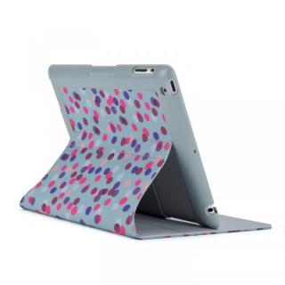 iPad 3rd/4th gen FitFolio - SprinkleTwinkle Grey/Pink