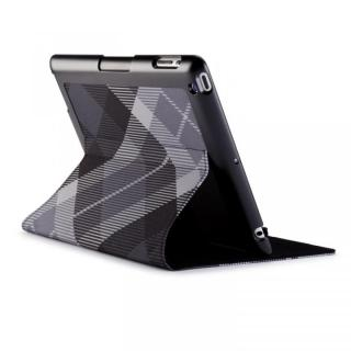 iPad 3rd/4th gen FitFolio - MegaPlaid Black