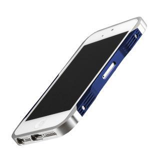iPhone SE/5s/5 CASTRUM(カストラム)シルバー&ブルー