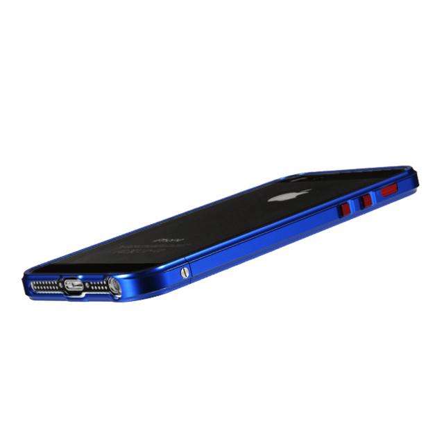 iPhone SE/5s/5 ケース iPhone SE/5s/5 RED ALERT(レッドアラート)メタリックブルー_0