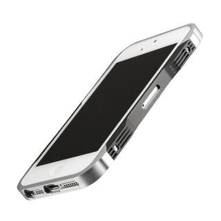 iPhone SE/5s/5 CASTRUM(カストラム)シルバー&グレー
