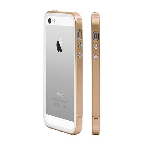 iPhone SE/5s/5 ケース B1X Bumper Full Protection シャンパンゴールド iPhone SE/5s/5バンパー_0