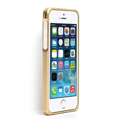 iPhone SE/5s/5 ケース Alloy X  iPhone SE/5s/5 - Champagne Gold_0