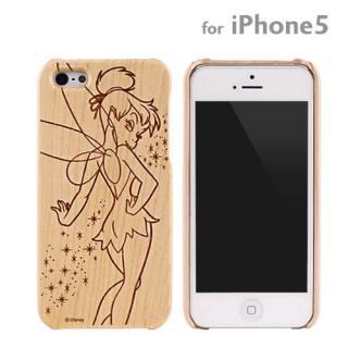 【iPhone SE ケース】WoodケースiPhone5(ティンカー・ベル)