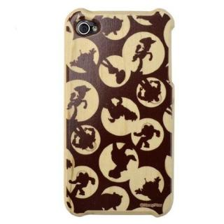 その他のiPhone/iPod ケース WoodケースiPhone4/4s(トイストーリー シルエット)