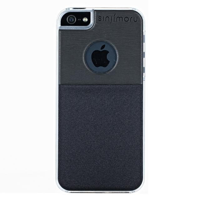 【iPhone SE/5s/5ケース】SINJI POUCH CASE  iPhone 5s/5(ブラック)_0