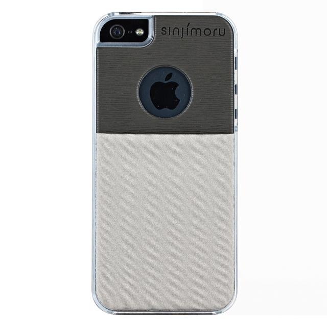 iPhone SE/5s/5 ケース SINJI POUCH CASE  iPhone 5s/5(グレー)_0