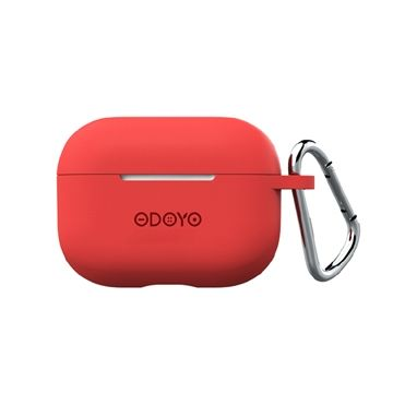 ODOYO ソフトコート レッド for AirPods Pro_0