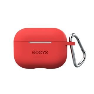 ODOYO ソフトコート レッド for AirPods Pro