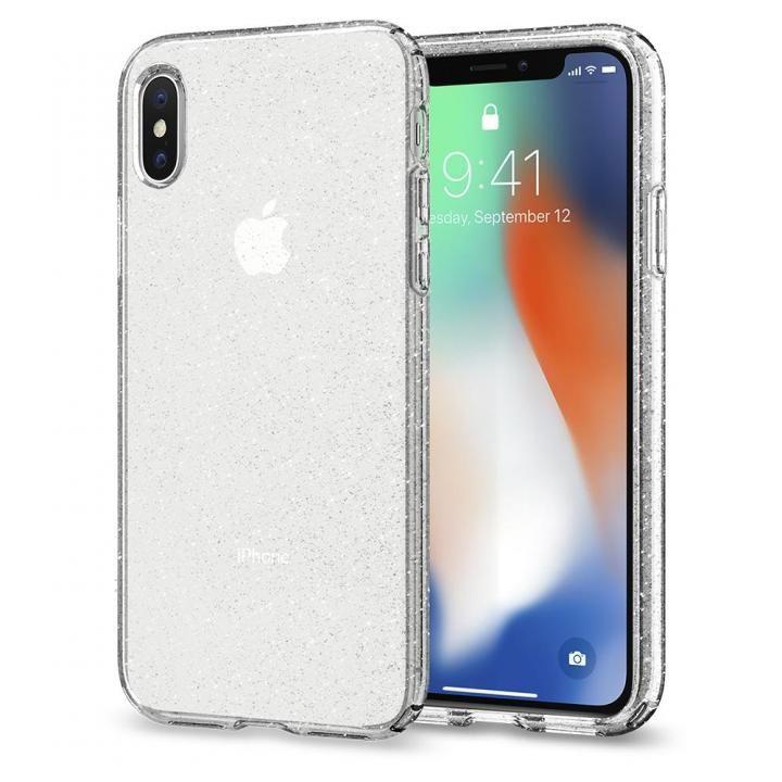 【iPhone Xケース】Spigen リキッドクリスタルグリッター グリッター加工 iPhone X_0
